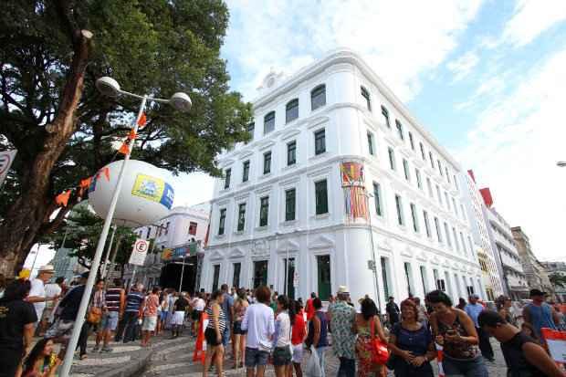 As visitas ao museu vão custar R$ 6 e R$ 3 (meia). Foto: Paulo Paiva/DP/D.A Press