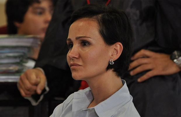 A senten�a foi proferida pelo juiz Ant�nio Francisco Gon�alves �s 2h49. Os jurados consideraram a jovem culpada por homic�dio qualificado foto: Renata Caldeira/TJMG  (Renata Caldeira/TJMG)