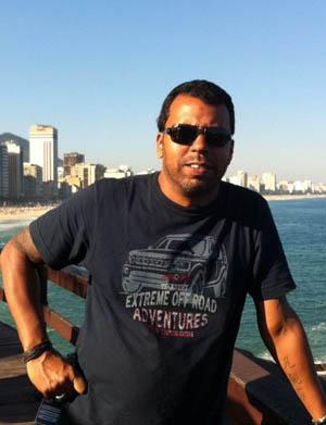 O profissional foi atingido por um roj�o enquanto fazia a cobertura de uma manifesta��o no Rio foto: Reprodu��o/Facebook (Reprodu��o/Facebook)