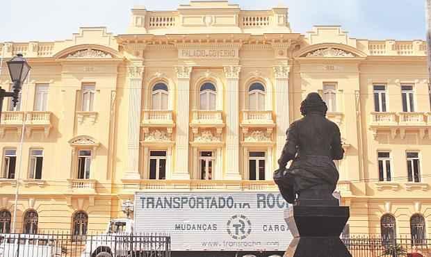 Pr�dio que sedia o governo h� dois s�culos ficou fechado por dois anos para reforma foto: Nando Chiappetta/DP/ D. A PRESS (Nando Chiappetta/DP/ D. A PRESS)