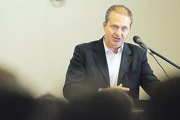 Eduardo j� orientou dirigentes socialistas e auxiliares a silenciarem sobre elei��es (Eduardo Braga/SEI)