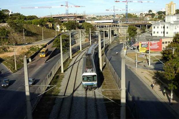 Falta de investimentos no metr� de Belo Horizonte volta a ser um dos alvos de embates em ano eleitoral foto: Gladyston Rodrigues/EM/D.A Press (Gladyston Rodrigues/EM/D.A Press)