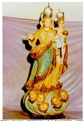Imagem do s�culo 18 foi furtada na noite de 1� de dezembro de 1981 foto: Minist�rio P�blico Estadual/Divulga��o (Minist�rio P�blico Estadual/Divulga��o)