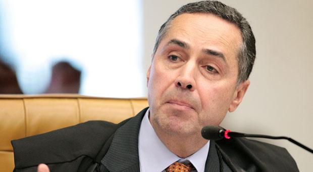 Barroso disse que eventualmente poder� levar o caso para ser apreciado em plen�rio foto: Carlos Humberto/STF  (Carlos Humberto/STF )
