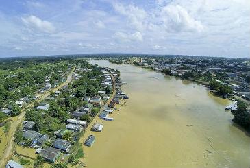 J� s�o 1.336 fam�lias retiradas de suas casas em Porto Velho e em mais 14 distritos da capital do estado. Foto: Pedro Devani/Secom