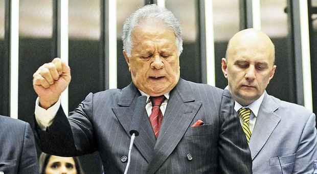 Edmar Moreira assumiu vaga nessa ter�a-feira na C�mara dos Deputados foto: Gustavo Lima/Ag�ncia C�mara (Gustavo Lima/Ag�ncia C�mara)