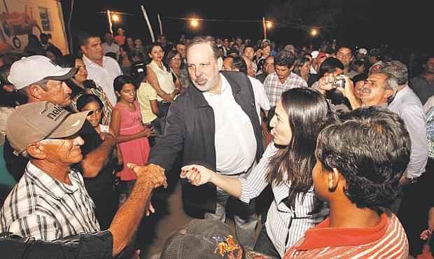 Armando come�ou sua agenda pelo interior do estado, que ser� retomada ap�s carnaval foto: Alexandre Albuquerque/DIVULGA��O (Alexandre Albuquerque/DIVULGA��O)