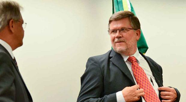 Assis do Couto durante escolha dos membros da CDHM: novo presidente � criticado por combater o aborto foto: Jos� Cruz/ABR (Jos� Cruz/ABR)