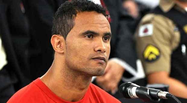 Condenado a 22 anos e 3 meses de pris�o, ex-atleta est� detido desde julho de 2010 foto: Marcelo Albert/TJMG  (Marcelo Albert/TJMG )