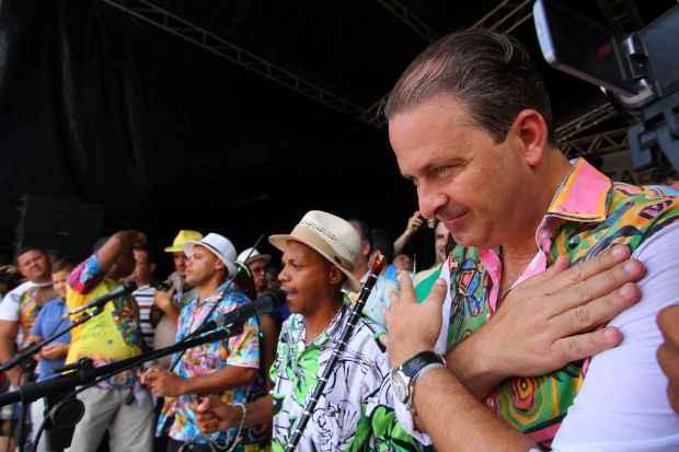 Eduardo Campos falou em palanque na cidade de Nazar� da Mata. Foto: Paulo paiva/DP/D.A.Press