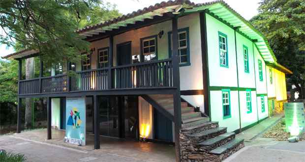 Luzes especiais no  Museu Ab�lio Barreto, no Cidade Jardim. Foto: Gladyston Rodrigues/EM DA Press
