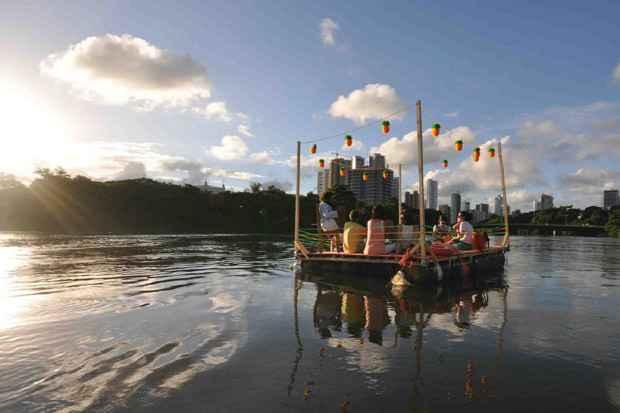 Praias do Capibaribe já contou com 17 edições. A próxima acontece neste domingo. Foto: Fundaj/Reprodução