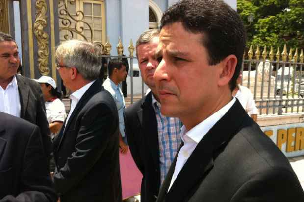 Com a morte de S�rgio Guerra, Bruno Ara�jo assume o comando do partido no estado. Foto: T�rcio Amaral/DP/D.A Press (T�rcio Amaral/DP/D.A Press)