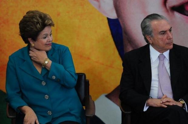 Dilma Rousseff receber� Michel Temer no Pal�cio da Alvorada amanh�: outros peemedebistas querem participar da reuni�o e pressionar a petista (Iano Andrade/CB/D.A Press)