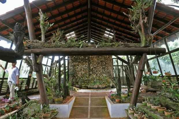 O parque abriga nos 4,5 mil hectares a vegeta��o t�pica do Cerrado (Marcelo Ferreira/CB/D.A Press)