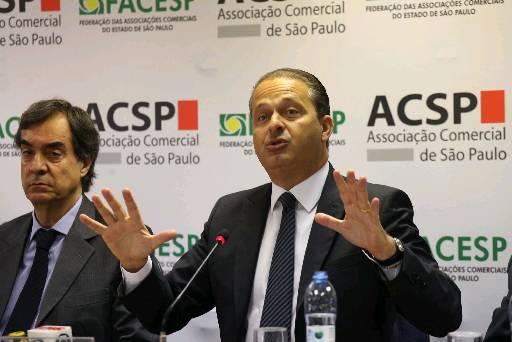 Governador disse a empres�rios paulistas que petista tende a fugir das discuss�es. Foto: Renato S. Crqueira (Renato S. Crqueira)