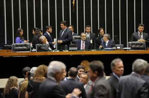Deputados aprovam a cria��o de comiss�o para investigar a Petrobras: ofensiva parlamentar contra o Planalto. Foto: Gustavo Lima/C�mara dos Deputado (Gustavo Lima/C�mara dos Deputado)