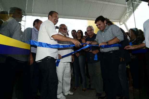 Eduardo Campos participou da inaugura��o de uma UPA no C�rrego do Jenipapo, no Recife. Foto: Aluisio Moreira/SEI (Aluisio Moreira/SEI)
