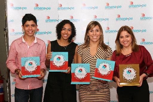 Pedro Henrique, Mayra, Ana Cláudia e Tânia se destacaram na premiação. Foto:  Edvaldo Rodrigues/DP/D.A Press