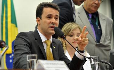 Autor do projeto de lei, Anderson Ferreira quer a implanta��o do Estatuto da Fam�lia. Foto: Luis Macedo/ C�mara dos Deputados (Luis Macedo / C�mara dos Deputados)