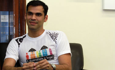Para o diretor da ONG Papai, Thiago Rocha, proposta do deputado reflete posi��o do eleitorado. Foto: Annaclarice Almeida/DP/D.A Press (Annaclarice Almeida/DP/D.A Press)