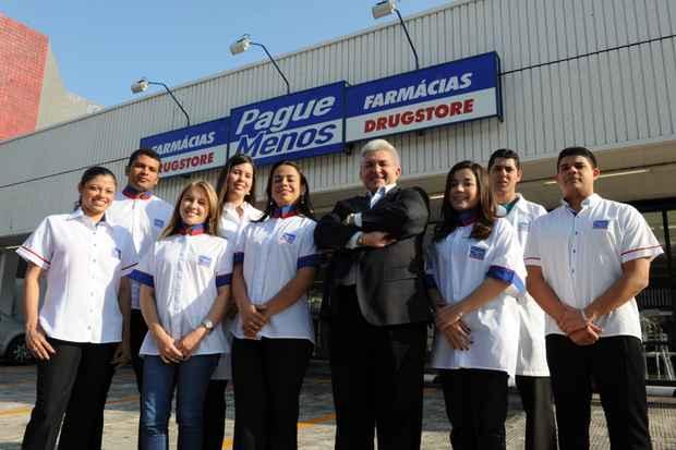 Nas unidades da Pague Menos, 30% das vendas j� s�o referentes a n�o medicamentos, segundo o presidente da rede, Deusmar Queiroz. Foto: Divulga��o