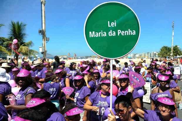 Mulheres fazem caminhada contra viol�ncia neste domingo no Rio de Janeiro. Foto: Tom�z Silva/Ag�ncia Brasil