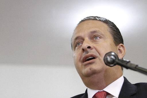 Foto: Na capital paulista, Eduardo Campos fez ontem novas cr�ticas ao governo de Dilma  (Blenda Souto Maior/DP/D.A Press)