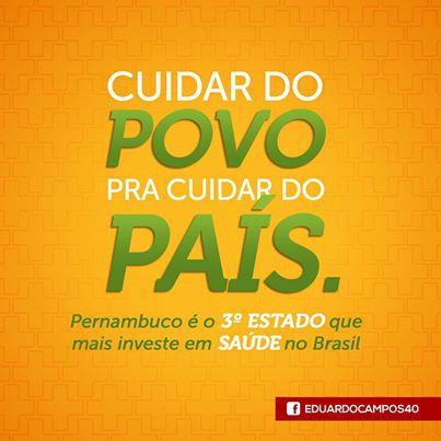 Levantamento do IBGE indica que Pernambuco � o terceiro estado que mais investiu em Sa�de em 2013. Foto: Reprodu��o Facebook (Foto: Reprodu��o Facebook)