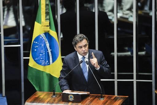 A�cio condenou o fato de o governo n�o ter investigado a opera��o. Foto: Marcos Oliveira/Agencia Senado (Marcos Oliveira/Agencia Senado)