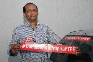 Jos� Oliveira critica postura de alguns petista em apoiar candidatura de Armando Monteiro. Foto: Edvaldo Rodrigues/DP/D.A Press