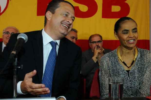 Eduardo Campos aparece com 6%, enquanto Marina Silva est� com 9%. Foto: Iano Andrade/CB/D.A Press