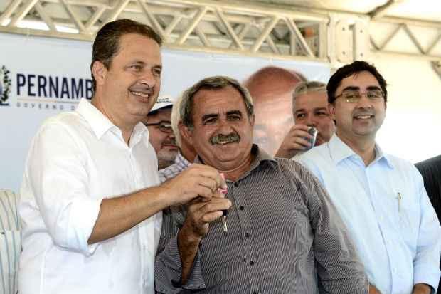 Socialista cumpriu agenda, nesta sexta-feira, no Sert�o do estado. Foto: Aluisio Moreira/SEI