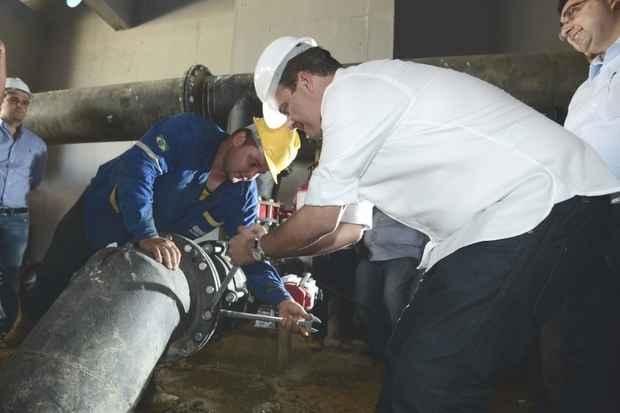 Petrolina a um passo de ser o primeiro munic�pio de Pernambuco 100% saneado.  Foto:Aluisio Moreira/SEI (Aluisio Moreira/SEI)
