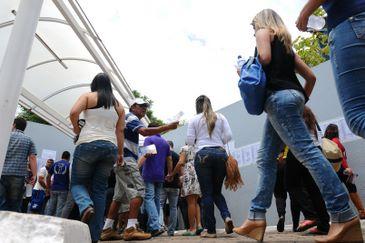 Candidatos concorrem a sal�rios de at� R$ 22 mil. Foto: Iano Andrade/CB/D.A Press