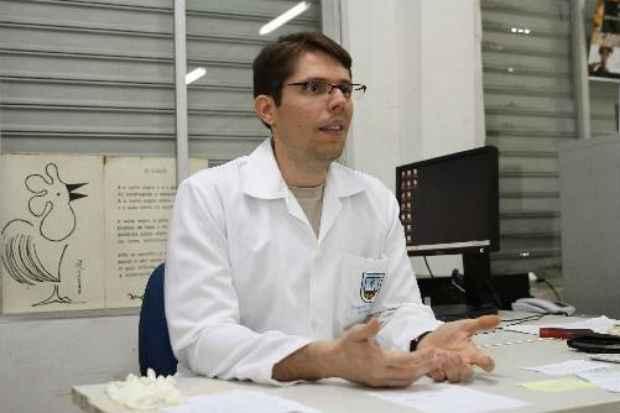 Historiador Diogo Barreto relata que na documenta��o oficial n�o existe registro sobre o local exato. Foto: Julio Jacobina/DP/D.A Press
