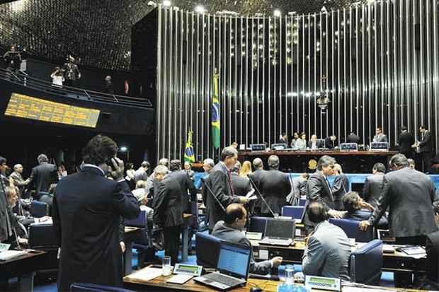 Proposta que p�e fim aos prefeitos itinerantes est� pronta para ser votada no Senado. Foto: Marcos Oliveira/Ag�ncia Senado (Marcos Oliveira/Ag�ncia Senado)