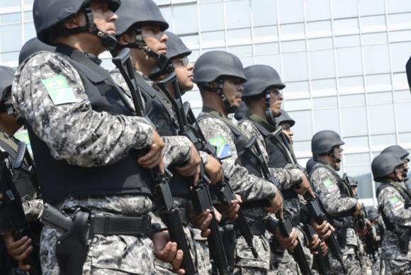 No Acre, os policiais atuam na repress�o ao contrabando. Em Alagoas, na Opera��o Jaragu�. Foto: Arquivo/Ag�ncia Brasil (Arquivo/Ag�ncia Brasil)