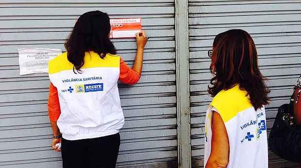 Estabelecimento foi fechado por cinco dias. Foto: Augusto Freitas/ DP/D.A Press