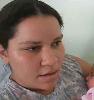 Adelir diz que aceitou ir para o hospital porque o marido poderia ser preso.