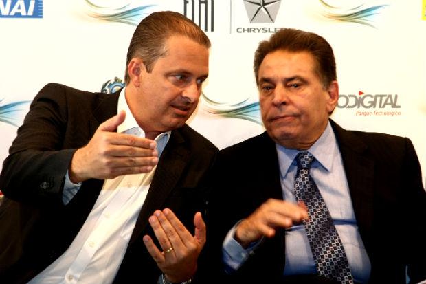 Jo�o Lyra acompanhou toda a agenda de Eduardo Campos nesta quinta-feira, �ltimo dia do governo do presidenci�vel. Foto: Aluisio Moreira/SEI