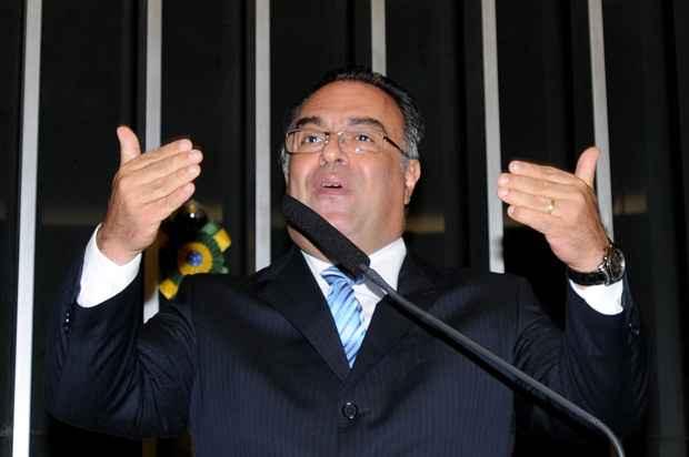 Na tribuna, o vice-presidente da C�mara se desculpou com os deputados. Foto: Carlos Moura/CB/D.A Press (Carlos Moura/CB/D.A Press)