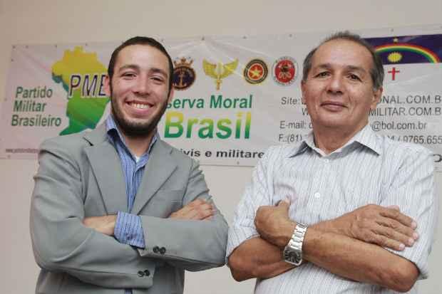 Emanuel Jhonata e Darc�rio Barbosa, fundadores do PMB no estado, defendem porte de armas para