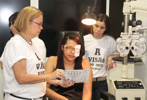 Exames gratuitos ser�o realizados at� sexta-feira. Foto: Jo�o Carlos Lacerda/ Divulga��o/ FAV