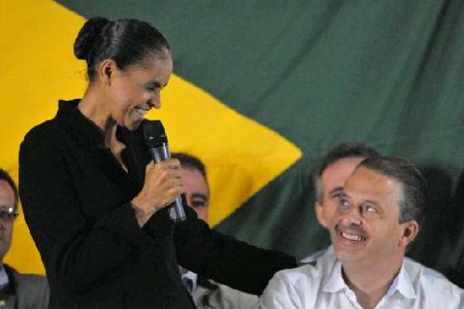 Marina Silva n�o ser� uma vice qualquer na chapa do ex-governador Eduardo Campos. Breno Fortes/CB/D.A Press. (Breno Fortes/CB/D.A Press.)