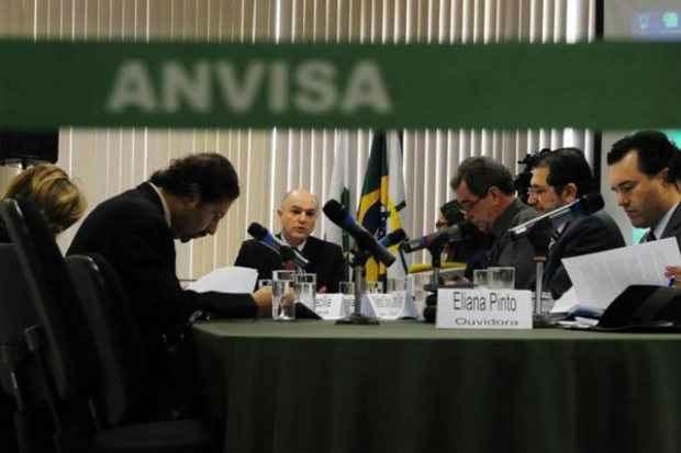 Reuni�o da Anvisa que proibiu emagrecedores � base de anfetaminas, em 2011: drogas consideradas perigosas. Foto: Ed Alves/CB/D.A Press (Ed Alves/CB/D.A Press)