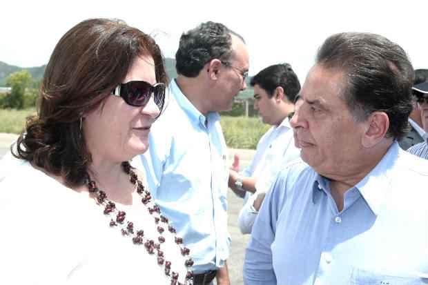 Governador recebeu ministros pessoalmente no Sert�o do estado e cobrou que Dilma discrimine Pernambuco. Fotos: Aluisio Moreira/SEI (Fotos: Aluisio Moreira/SEI)