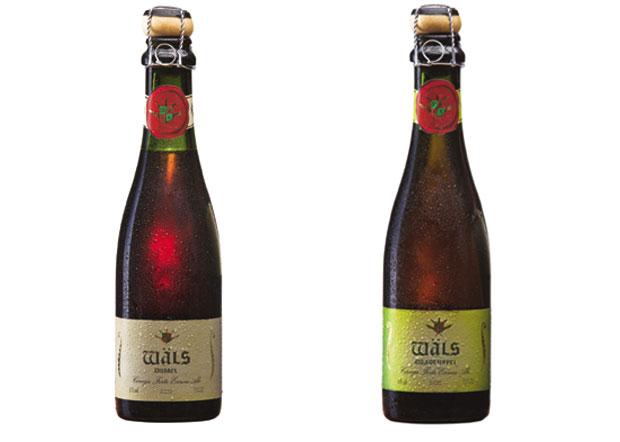 � esquerda a vencedora, a cerveja Dubbel. Ao lado, a Quadruppel. Foto W�ls/Divulga��o