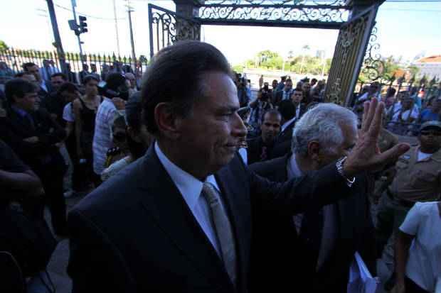 Lyra reconheceu papel da gest�o de Dilma no desenvolvimento econ�mico do estado. Foto: Paulo Paiva/DP/D.A Press