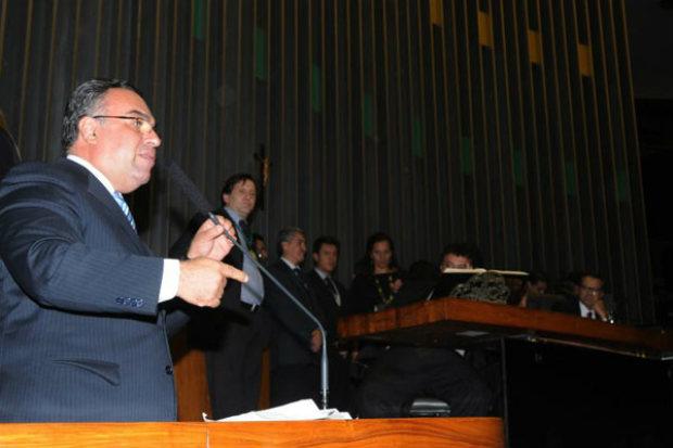Mesmo com a articula��o do PT para definir o novo vice-presidente da C�mara, Vargas decidiu n�o renunciar. Foto: Carlos Moura/CB/D.A Press (Carlos Moura/CB/D.A Press)